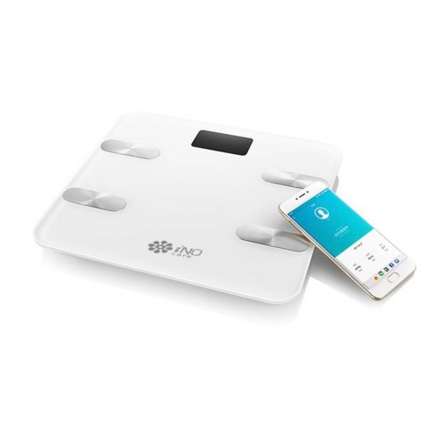 iNO CB760<br>藍牙智能體重計-白色 1